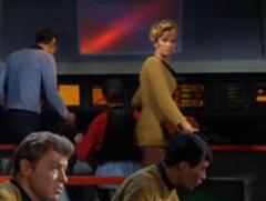 Bailey, Spock, Leslie, #46, Sulu