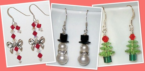 View Christmas Earrings
