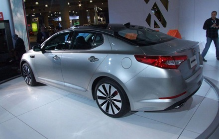 Sedan Kia Optima Magentis 2011 in New York 1