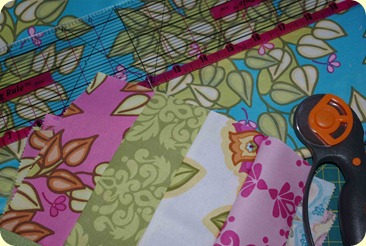 Soiree quilt pieces