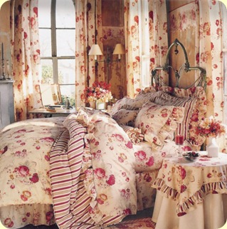 cottage rose bedroom