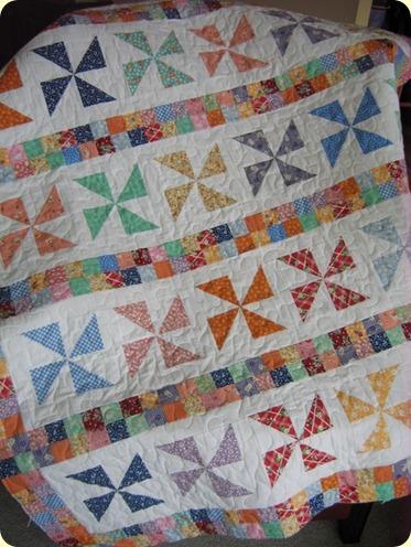 Sweet Jane Pinwheel Quilt