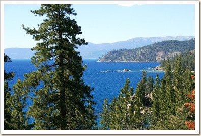 Lake  Tahoe from Logan Shoals Vista 3