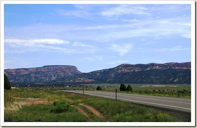 Hwy 89 Near Bryce Canyon NP