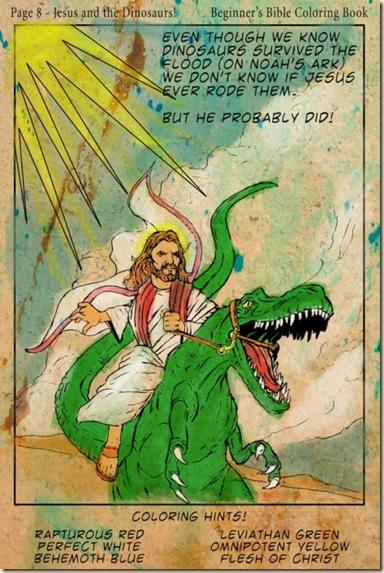 Jesus and Dino