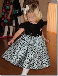Abigail dancing