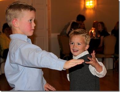 Gabe dancing