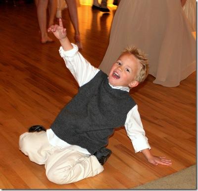 Gabe dancing 2