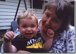 Gabe and Grandma