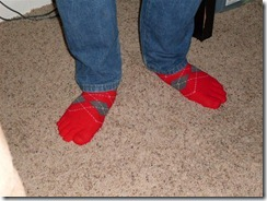 Ben's Toe Socks 002 (Medium)