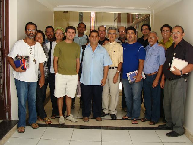 clero e SG reunidos