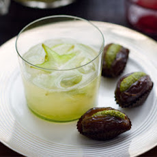 Dates Stuffed With Honey And Pistachio Marzipan
