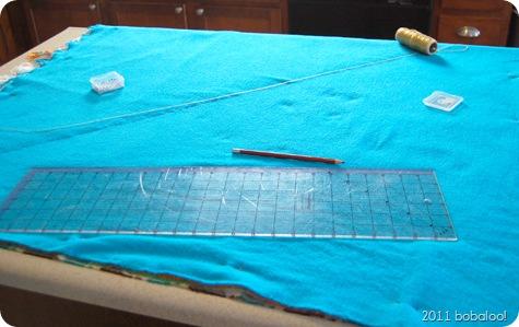 3 29 11 chenille blanket preparation