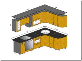 Мебель для кухни - Злата