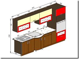 Мебель для кухни - Хайтек