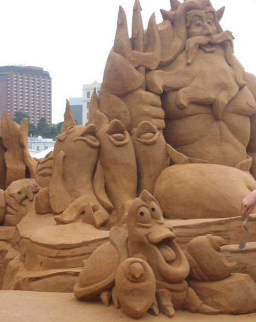 The best sand sculptures ever funny too