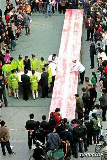 Worlds Longest Noodles Made in CHINA