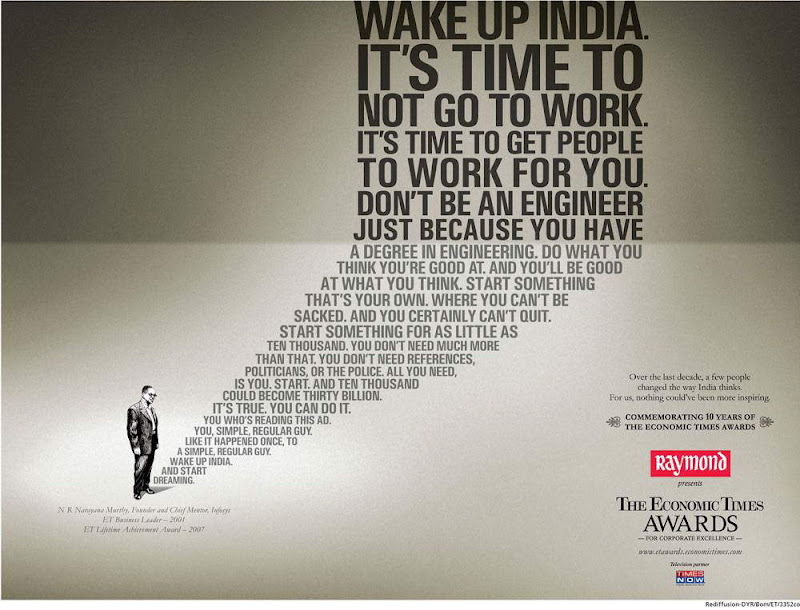 Wake Up India - Start Dreaming..!