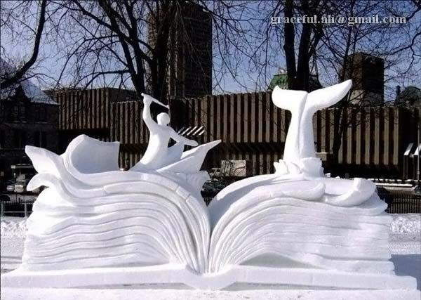 Sculptures from the Snow