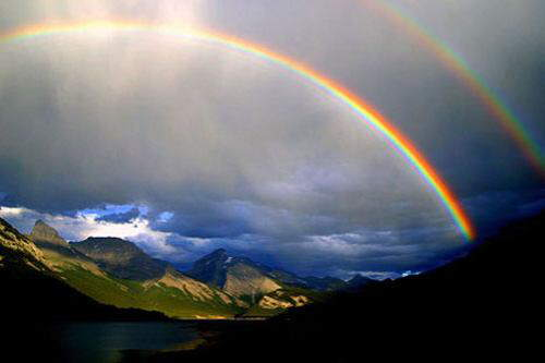 Incredible, Beautiful, Rare Rainbow.....