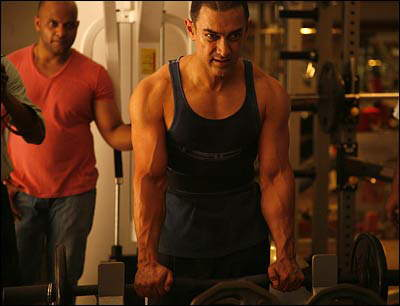 IMG : Efforts behind the Ghajini look