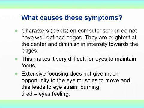 FW: A Very Useful Article on Eye Care