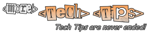More Tech Tips! | Technology tips on web development