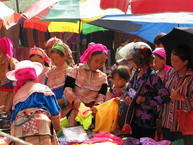 Market in Bac Ha, Vietnam