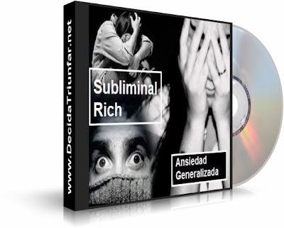 ANSIEDAD GENERALIZADA, Subliminal Rich [ Audio CD ] – Audio subliminal para combatir la ansiedad generalizada.