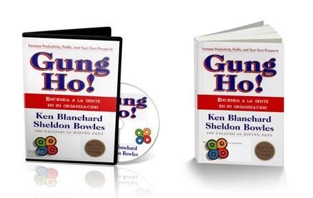 A LA CARGA (GUNG HO) [ Video + Libro ] – Cómo aprovechar al máximo el potencial de las personas de su empresa o grupo de trabajo