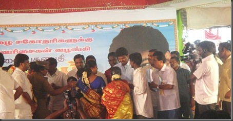 Vijay visits trichy marriage pictures