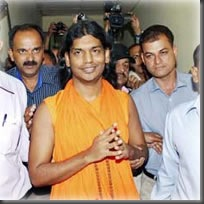 nithyananda arrested
