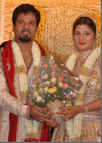 Rambha grand reception pictures