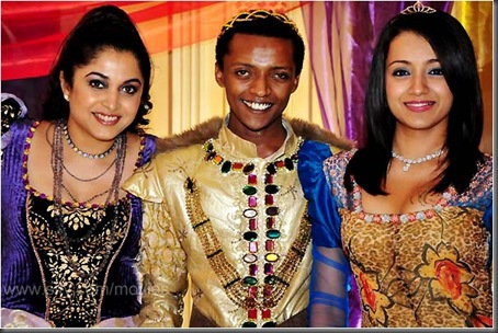 Ramya and Trisha with Sidney