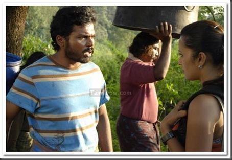 04 Karthi,Andrea,Reema Sen Aayirathil Oruvan movie stills