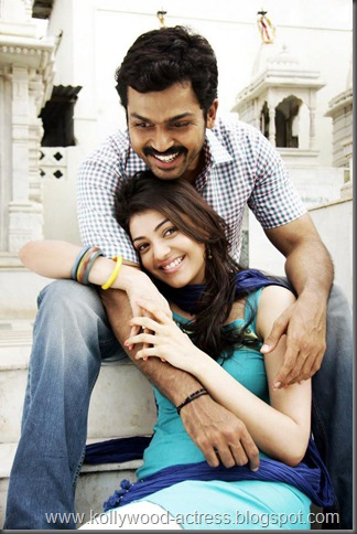 Karthi, kajal agarwal -Naan Mahaan Alla movie stills7