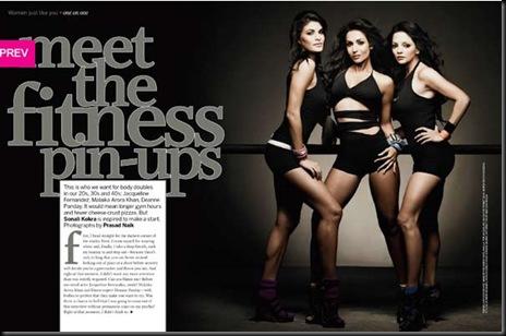 Jacqueline Deannye Malaika on Femina India magazine July 20101