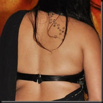 Namitha-tattoo-on-back