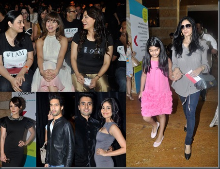 Bollywood stars at Lakme Fashion week-2011