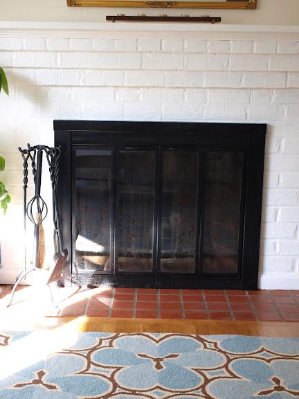 Refinishing The Fireplace