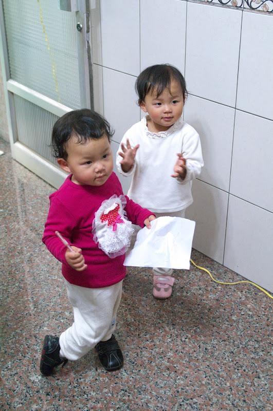 雙胞胎小姪女