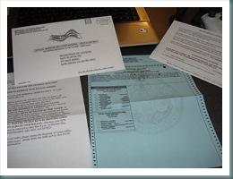 2008 Presidential Overseas Ballot 002