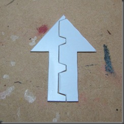 plasticard arrow