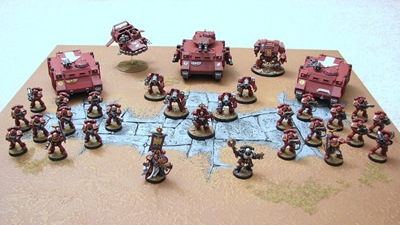 space marines full army