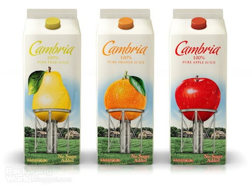 Cambria Juice Packaging