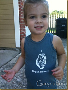 a kids organ donor dress meg