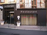 Restaurant Le Sampa à Montauban : la façade 2