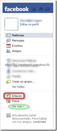 Enlaces Facebook | MasFB