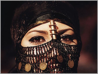 kohl-mujer-árabe