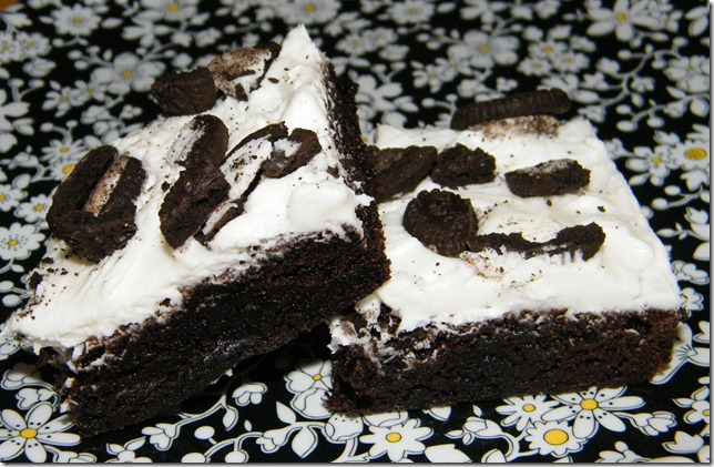 Cookies n Cream Brownies